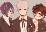 Persona Protags.. eh?    042917