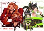 [OPEN 2/2] Akateko And Kitsune Auction