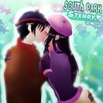 South Park Anime - Stendy Kiss