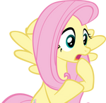 Fluttershy Gasp Vector