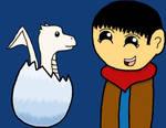 Merlin and Aithusa