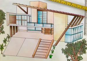Traditional Sustainable Architecture Project.