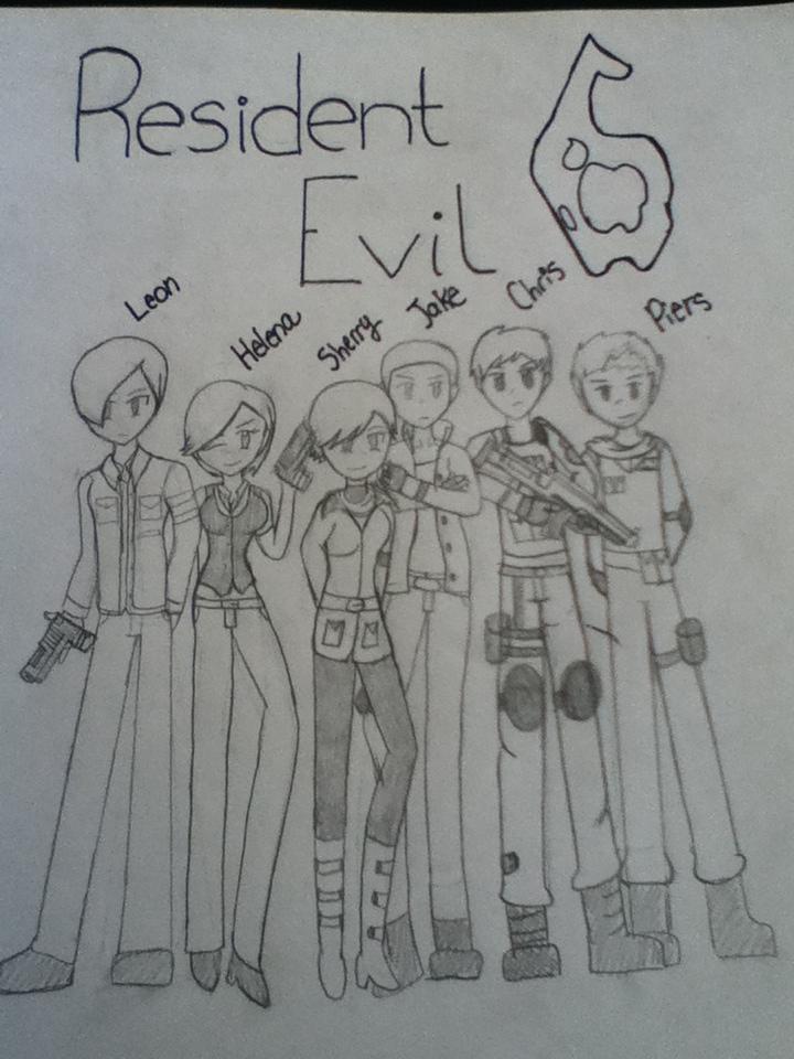 Resident Evil 6 by LeonKennedysAngel