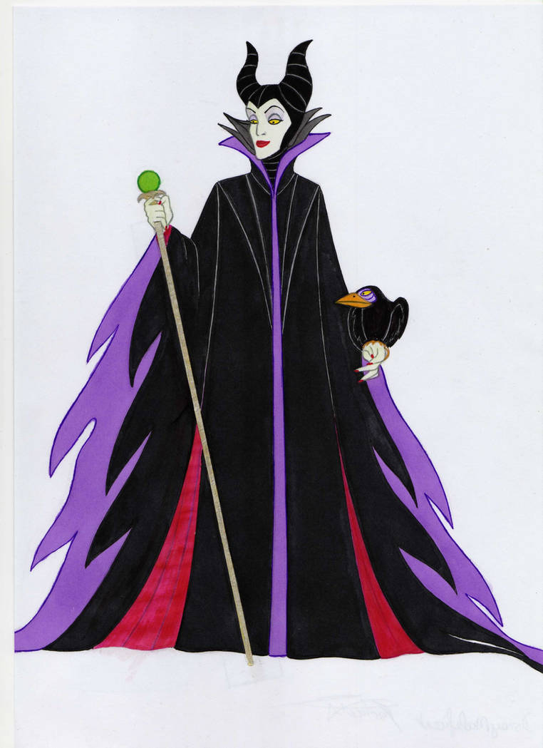 Maleficent, Disney villain by fal62 on DeviantArt