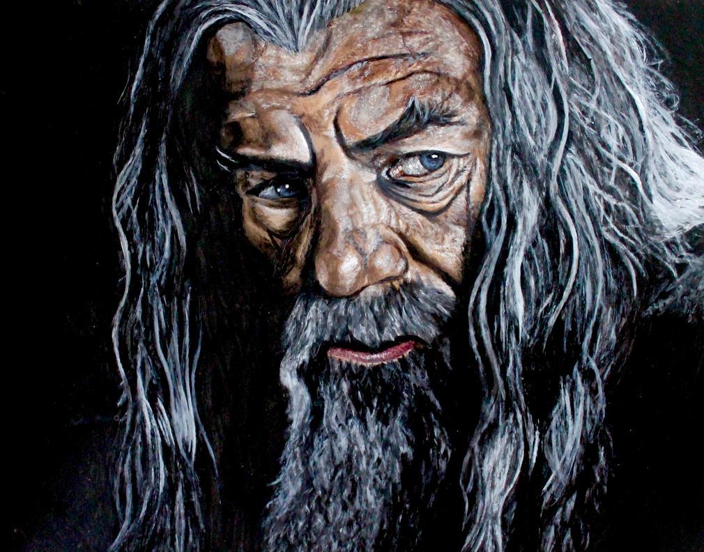 Gandalf by Marivyn