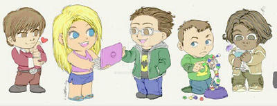 The big bang theory by Scarypopin