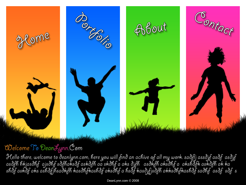 Silhouette Template No.1 by DeanLynn