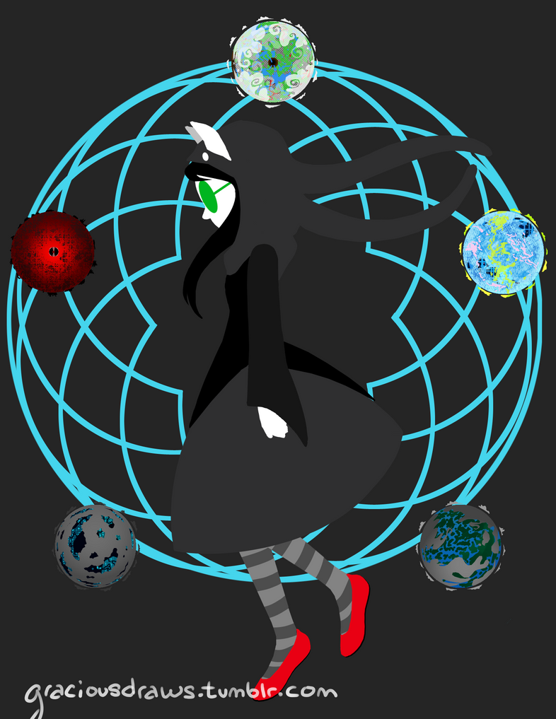 Spacey Spirograph by GraciousHD