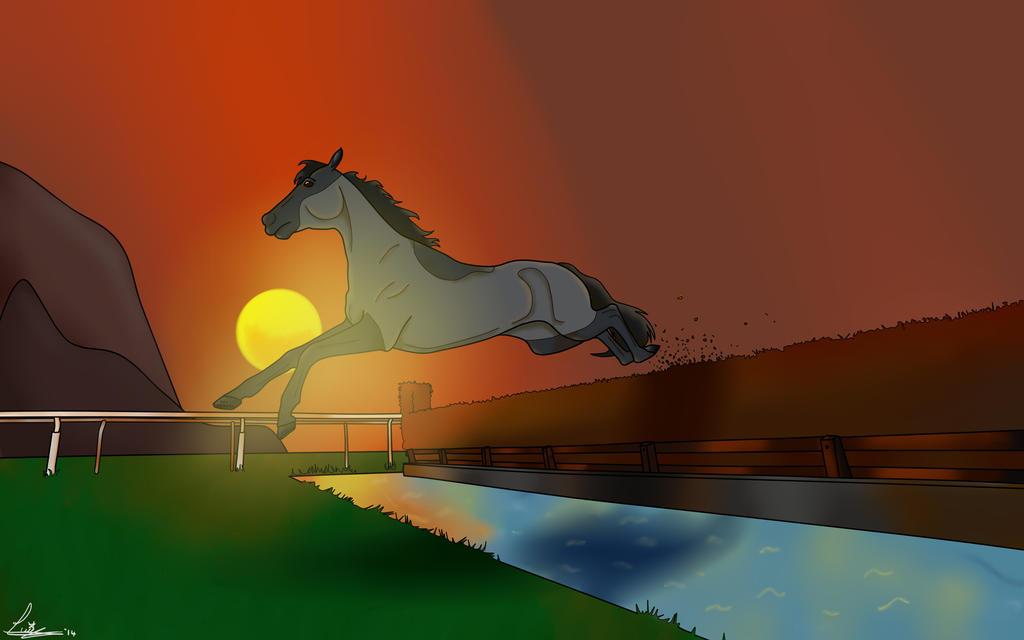 Racehorse by KyouseiTamashiine