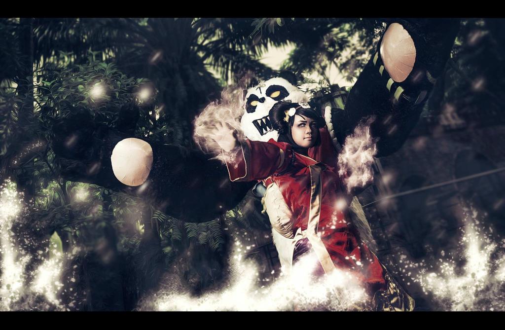 Panda Annie by gazxiii