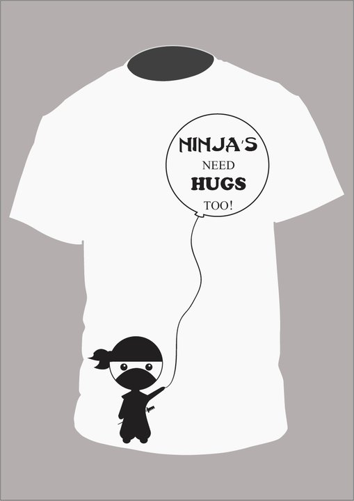 Ninja's need HUGS too by PrincessOkiwa