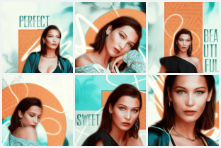 bella hadid icons. by pinklucozade