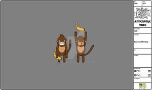 08 Modelsheet Banana Monkey