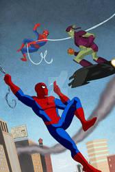 Peter Parker Spectacular Spider-Man 302 Animated  by Tyraknifesaurus