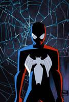 Amazing Spider-man 539 Cover Animated Style by Tyraknifesaurus