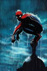 Peter Parker: Insomniac Spider-Man 1 ReCover by Tyraknifesaurus