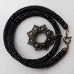 Gothic Black Necklace