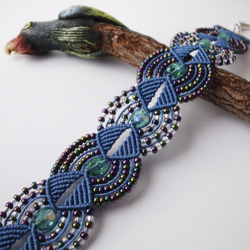 Macrame Bracelet 17 by borysbrytva on DeviantArt