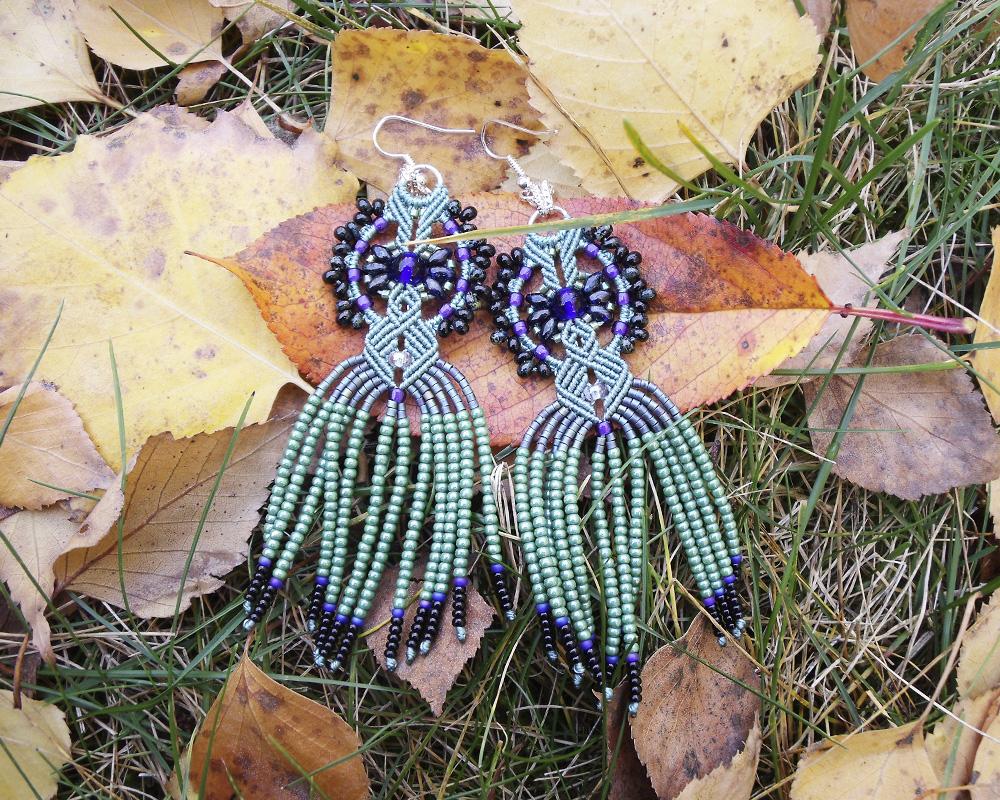Deep Blue and Sage Green by borysbrytva