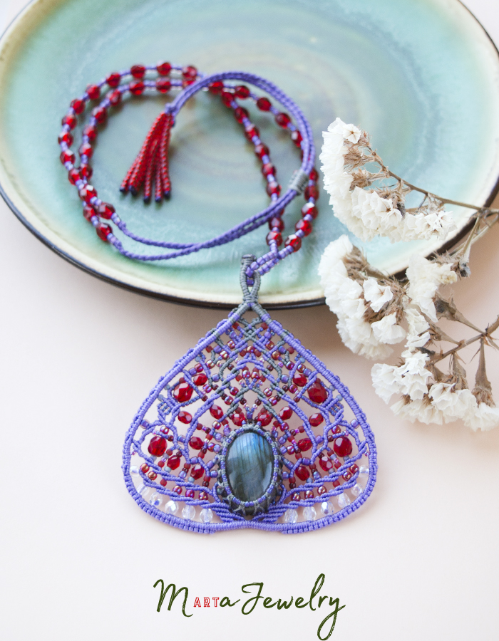 Ultra-Violet Abstract Common Fig with Labradorite by borysbrytva