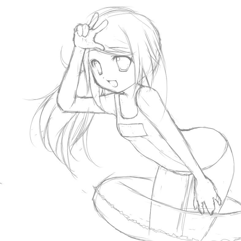 Sketch by RiceBunni
