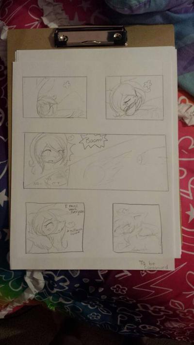Comic sketch  by cutelittlepikakitty