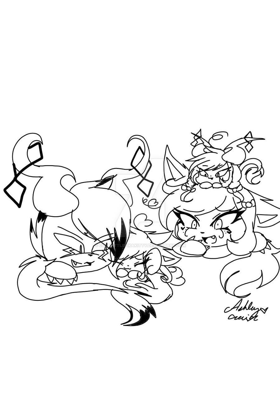 Ashy's Family  by cutelittlepikakitty