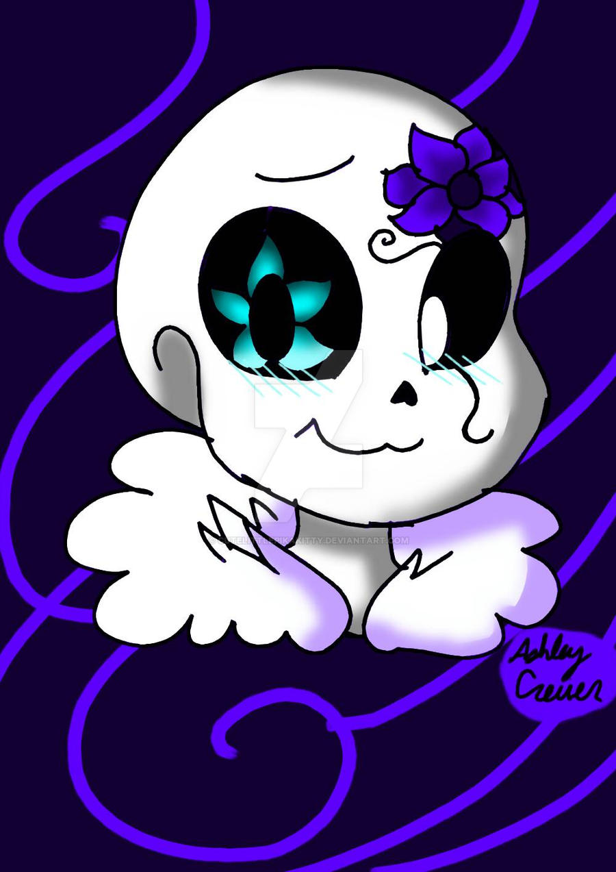Spring! Sans by cutelittlepikakitty