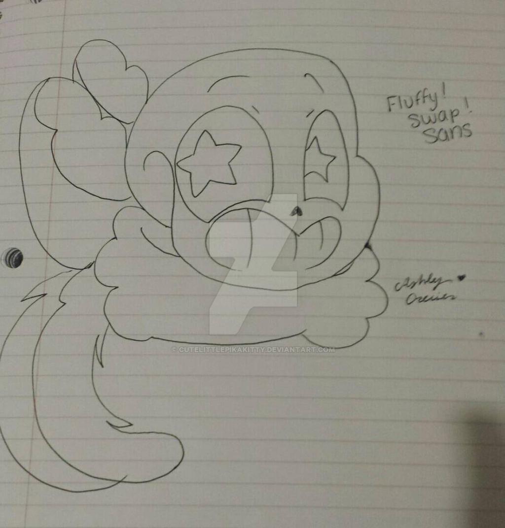 preview of Fluffy!Swap!Sans  by cutelittlepikakitty