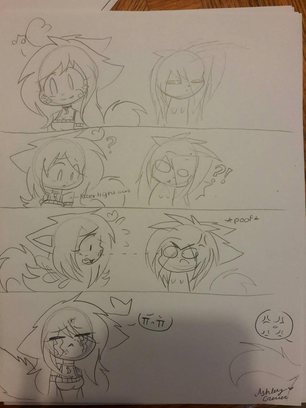 what if.... comic  by cutelittlepikakitty