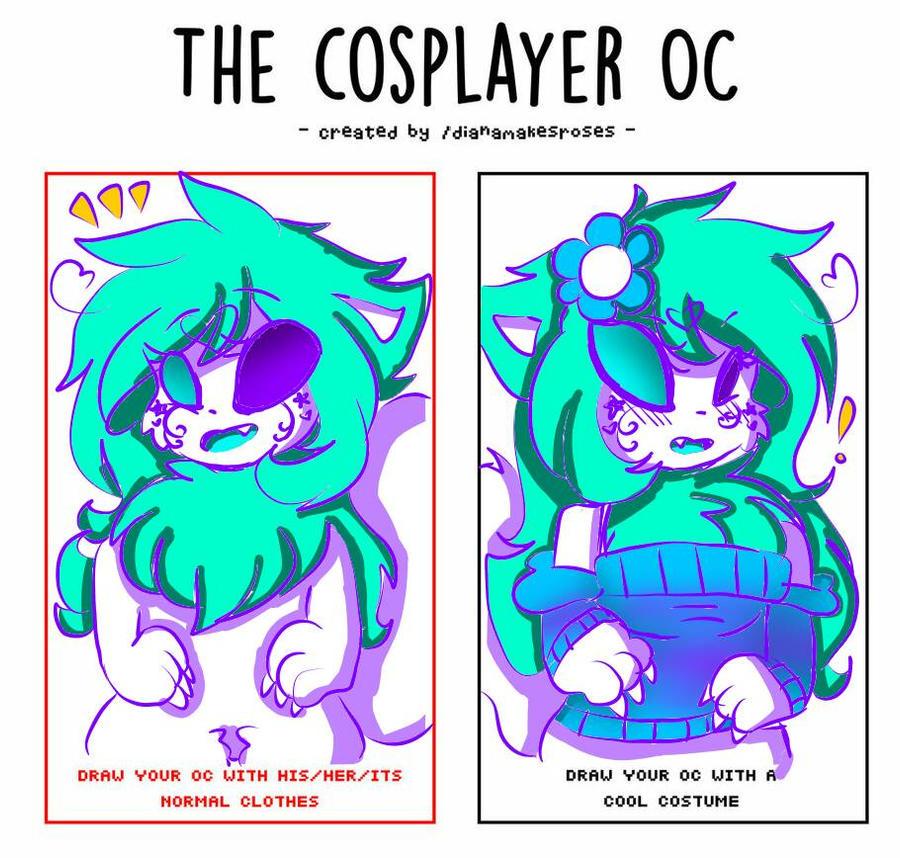 Cosplayer OC [Meme] Ashy by cutelittlepikakitty