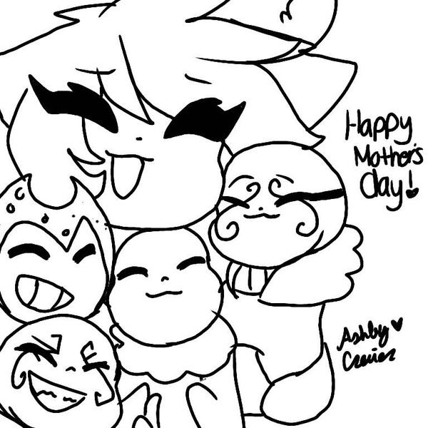 Happy Mother's day!  by cutelittlepikakitty