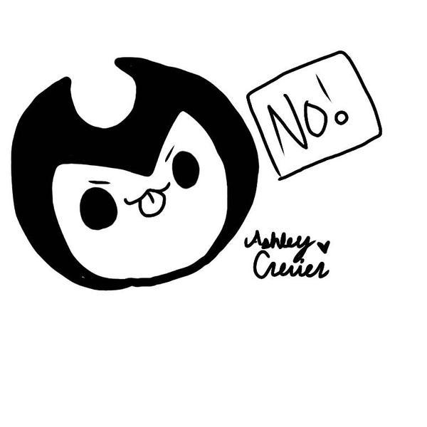 Bendy NO! by cutelittlepikakitty