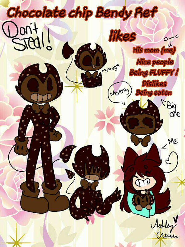 Chocolate chip bendy Ref by cutelittlepikakitty