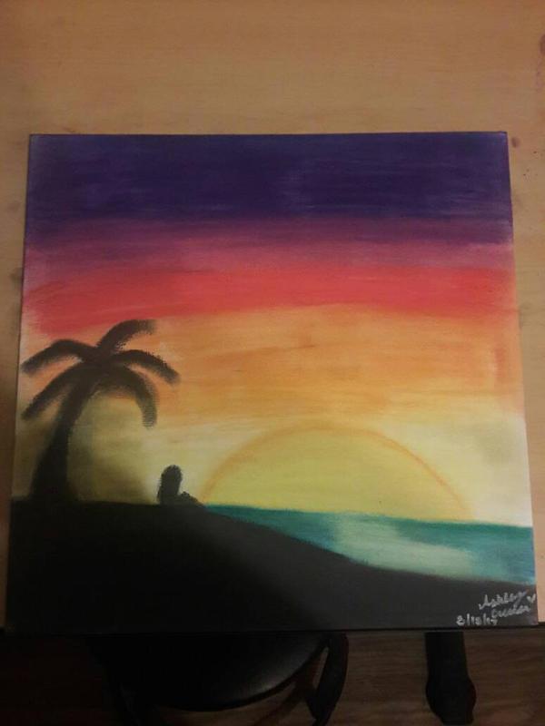 Sunset  by cutelittlepikakitty