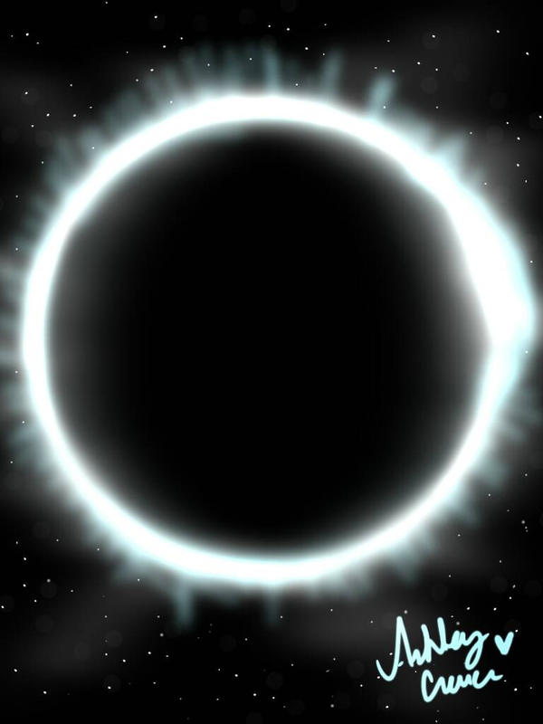Solar Eclipse  by cutelittlepikakitty