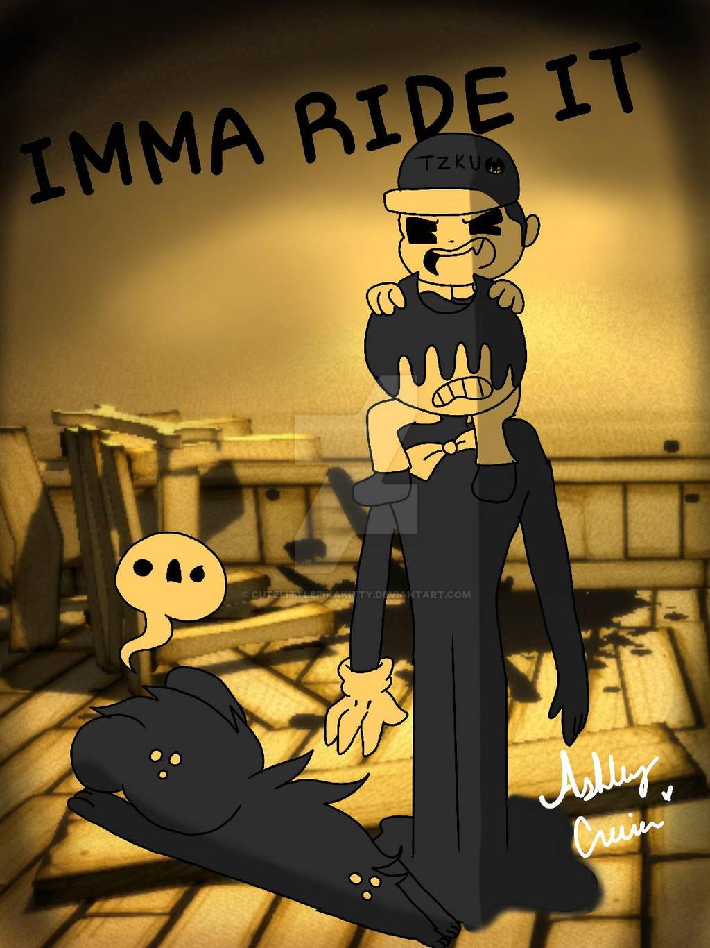 IMMA RIDE IT [No proper title lol] by cutelittlepikakitty