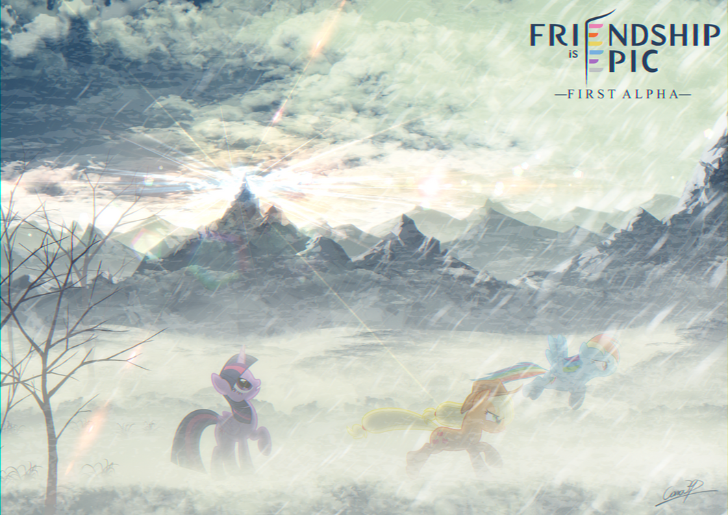 Friendship is Epic: Concept art 6 by coma392