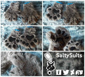 Soundtrack Hand Paws Commission by SaltySuits