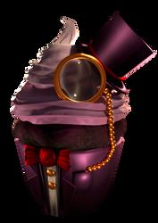 The Gentleman Cupcake 3D
