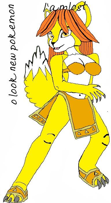deanne becomeing Braixen 01 by qjosh