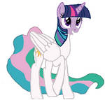 Alicorn Twilight Becomeing Princess Celestia Tf 04
