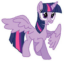 alicorn twilight becaming Peewee's mother tf 01