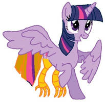 alicorn twilight becaming Peewee's mother tf 02