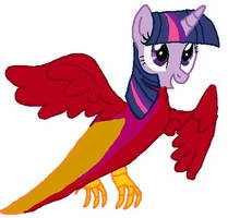 alicorn twilight becaming Peewee's mother tf 04