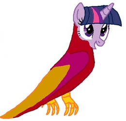 alicorn twilight becaming Peewee's mother tf 05