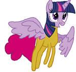 alicorn twilight becaming Breezie pink tf 04