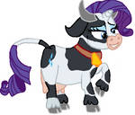 Rarity Becoming A Cow Tf 11