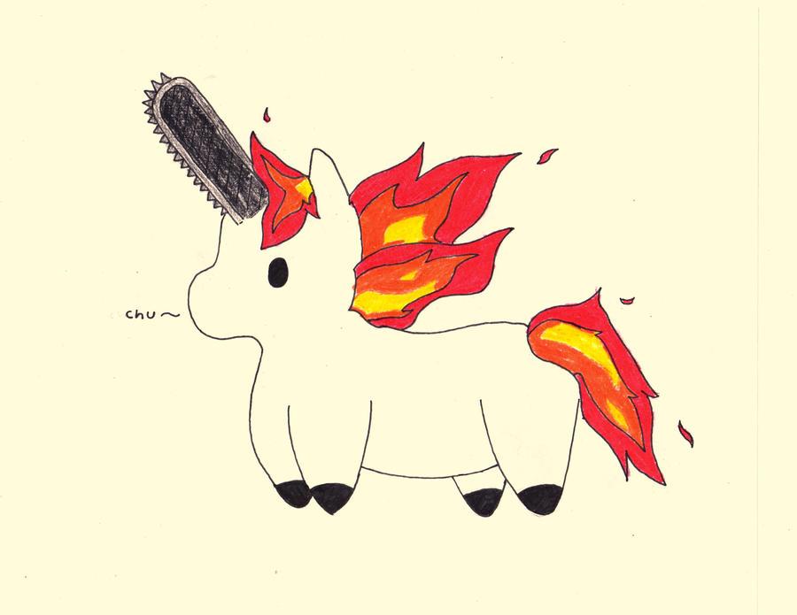 Matthew's Evil unicorn by RainSmile on DeviantArt