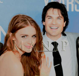 Manip {Holland Roden and Ian Somerhalder} by PsychoPixieEditions
